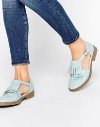 macey fringe shoes